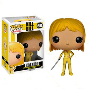 FUNKO POP Movies Kill Bill The Bride Vinyl Action Figures Collection Model Toys for Children Birthday Gift
