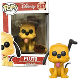 Funko Pop Pluto Sticker Disney Treasure Exclusive 10cm Vinyl dolls Action Figures Collection Model Toys for Party Gifts with box