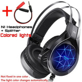 Gaming Headset Headphones with Microphone Light Surround Sound   Bass Earphones For PS4 Xbox One Professional Gamer PC Laptop