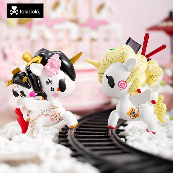 Tokidoki Unicorn Bambino Series Unicorn and Baby Blind Box Trend Toy Doll Collection Movable Doll Unicorn Model Toy Gift