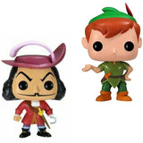 Funko Pop Captain Hook 10cm # 25 26 Vinyl Action Figures Disney Toy Collection Model Kids Toys for Children Birthday Gifts
