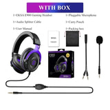 EKSA Gaming Headset with 7.1 Surround Wired Gamer Headphones With Noise Cancelling Detachable Mic For PC/Xbox/PS4
