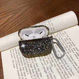 Luxury 3D Cute Bling diamonds Wireless Bluetooth Earphone Accessories hard case for Airpods Pro 2nd 1st protective Charging bag