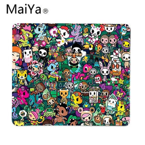 Maiya Top Quality Japan Tokidoki Large Mouse pad PC Computer mat Free Shipping Large Mouse Pad Keyboards Mat
