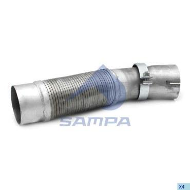 SAMPA FLEXIBLE PIPE EXHAUST 204.328-SAJID Auto Online