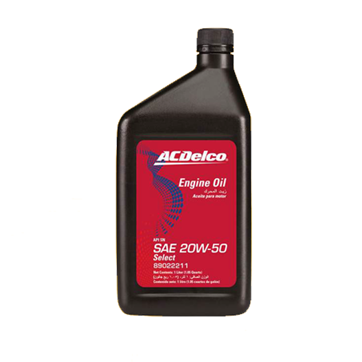 ACDelco Engine Oil SAE 20W-50 1 Litre PN: 89022211-SAJID Auto Online