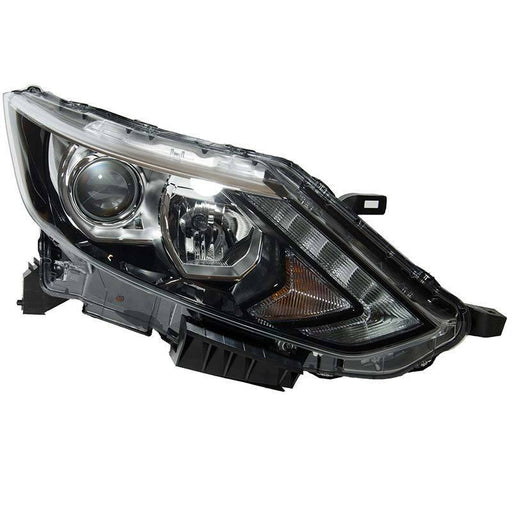 260104EA0A Right Driver Side OS Headlamp Halogen LED Fits Nissan QASHQAI-SAJID Auto Online
