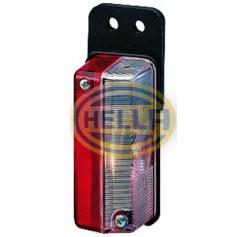 HELLA MARKER LAMP RED & WHITE 2XS005020011