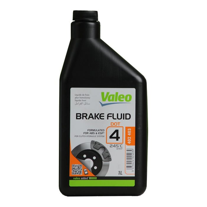 Valeo Brake Fluid DOT 4 Code- 402402 500 ml-SAJID Auto Online