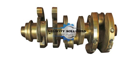 Velocity Solutions Crankshaft con rod small OM441-V6-128MM PN: 4410301701-SAJID Auto Online