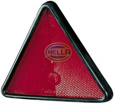 HELLA REFLEX-REFLECTOR RED 8RA002010011