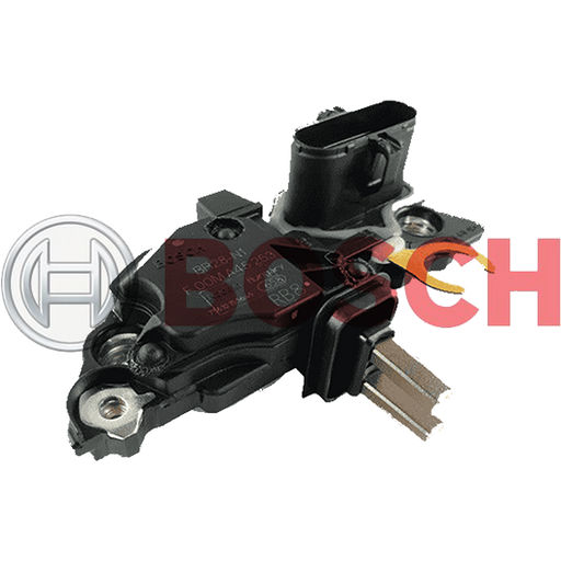 Alternator Regulator, Add-on/Flush-Mounted BOSCH PN: F 00M A45 253 MADE IN HUNGARY-SAJID Auto Online