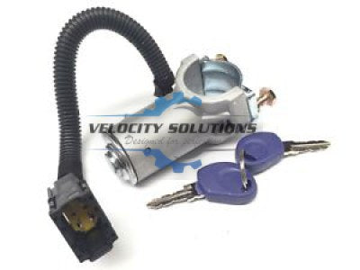 Velocity Solutions Ignition Steering Ignition Lock + 2 Keys for Iveco, 06-12-SAJID Auto Online