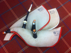 Sheepskin or Goatskin Pipe Bags