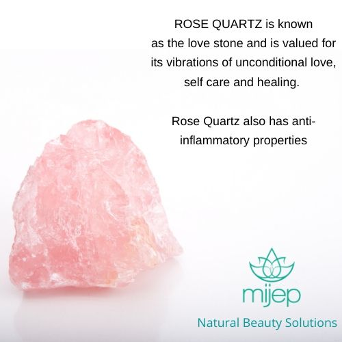 Rose Quartz Gua Sha (U Shape) - MIJEP