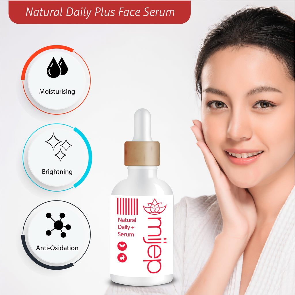 Premium Natural Daily Plus + Face Serum - MIJEP