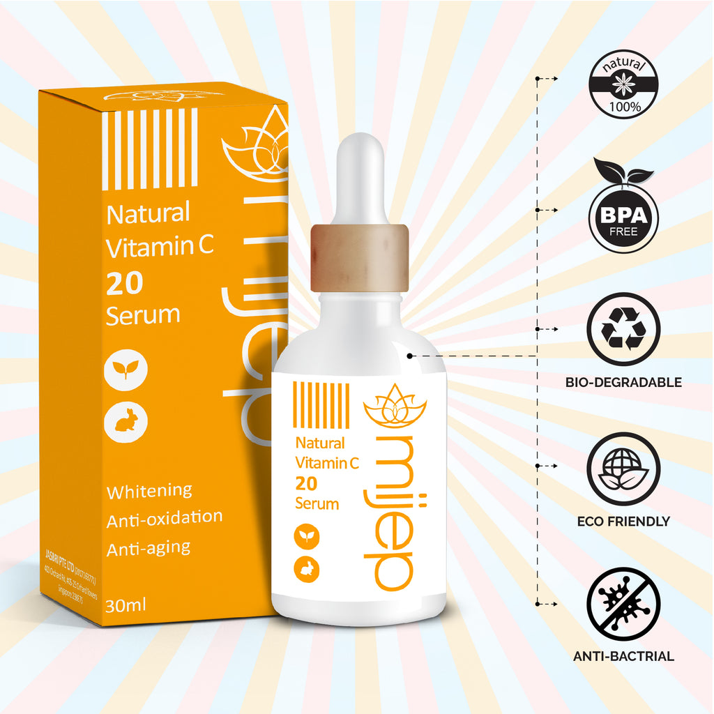 Premium Natural Vitamin C Serum - MIJEP
