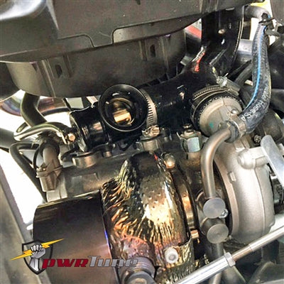 PwrTune Can-Am X3 Turbo Silicon Intercooler Pipe Kit