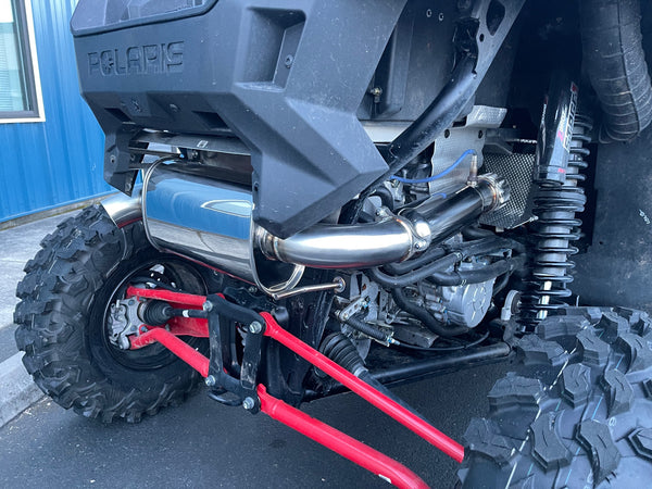 "2020-2021 Polaris RZR ProXP ""Slip On"" Exhaust System"