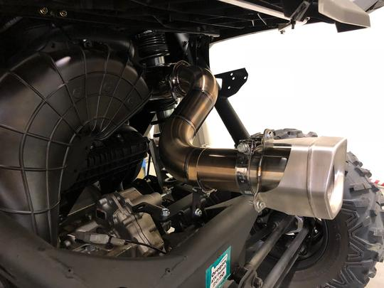 Treal Performance 2017-2021 Can-Am X3 Race Rear Exhaust Sections