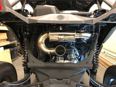 2017-2020 Can-Am X3 Rear Muffler Section