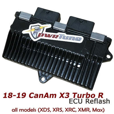 2018-2019 Can-Am X3 Turbo ECU Reflash