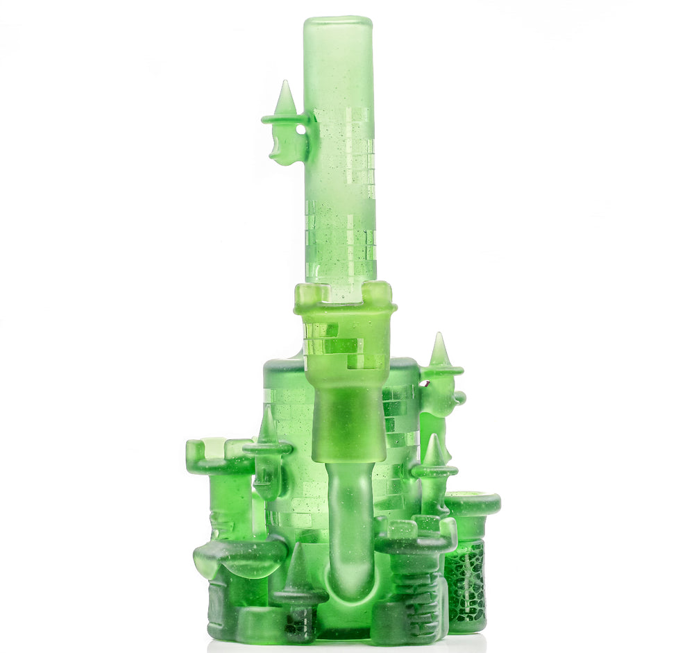 "JEBB - Gem Series Green ""Stardust"" Castle"