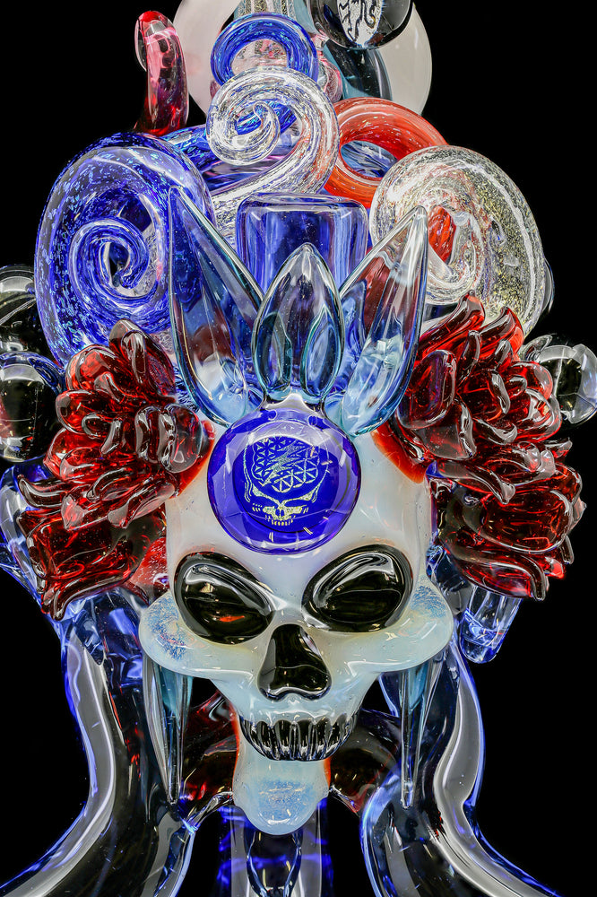 "Lace Face ""Grateful Dead Skull Princess"""