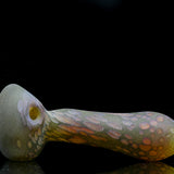 Stone Tech Glass fossil spoon dry herb pipe