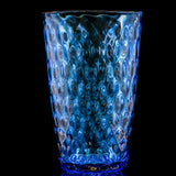 Xander D'ambrosio light blue full rainbow drinking glass