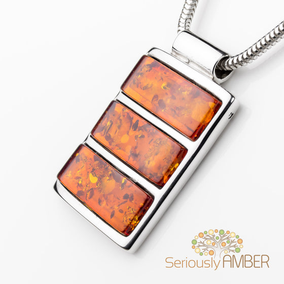 Baltic amber and sterling silver pendants a stones throw jewellery cognac amber pendant sa p0723c mozeypictures Images