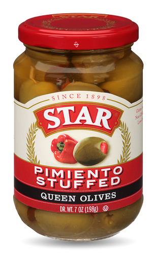Star Olives - Pimiento Stuffed 7oz - SipsyLA