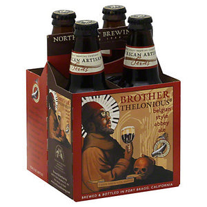 Brother Thelonious Belgian Style Abbey Ale - 4 bottles - SipsyLA