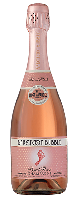 Barefoot Bubbly Brut Rose - 750 ml - SipsyLA