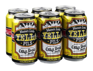 Oskar Blues Mama's Little Yella Pils - 6 Cans - SipsyLA