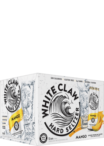 White claw Mango  - 12 cans - SipsyLA