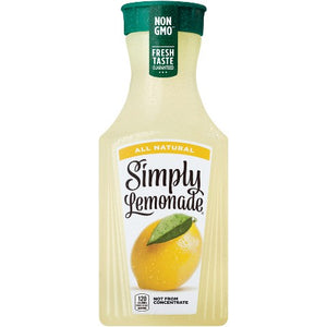 Simply Lemonade A Fresh Taste Experience - 52oz - SipsyLA