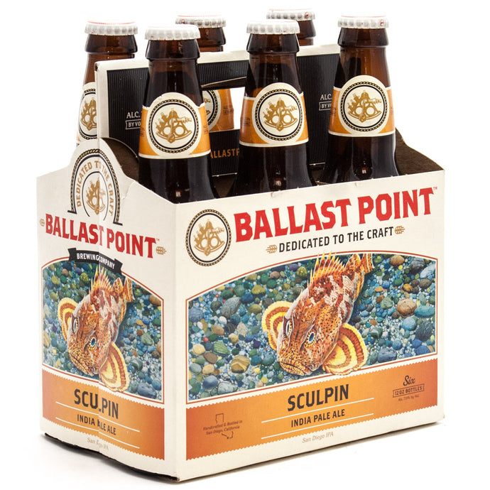 Ballast Point Sculpin IPA - 6 Bottles - SipsyLA