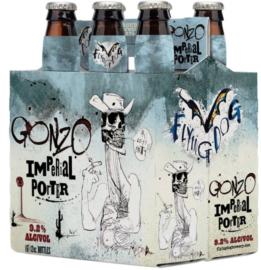 Gonzo Flying Dog Imperial Porter - 6 bottles - SipsyLA