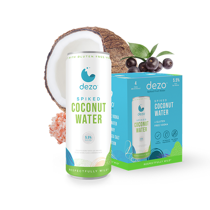 Dezo Spiked Coconut Water - 4pk