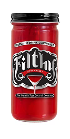 Filthy Red Cherry - Cherry Garnish 8oz - SipsyLA
