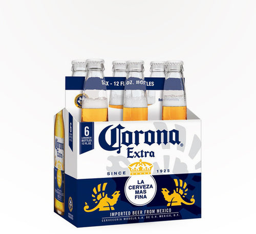 Corona Extra Mexican Lager  - 6 bottles - SipsyLA