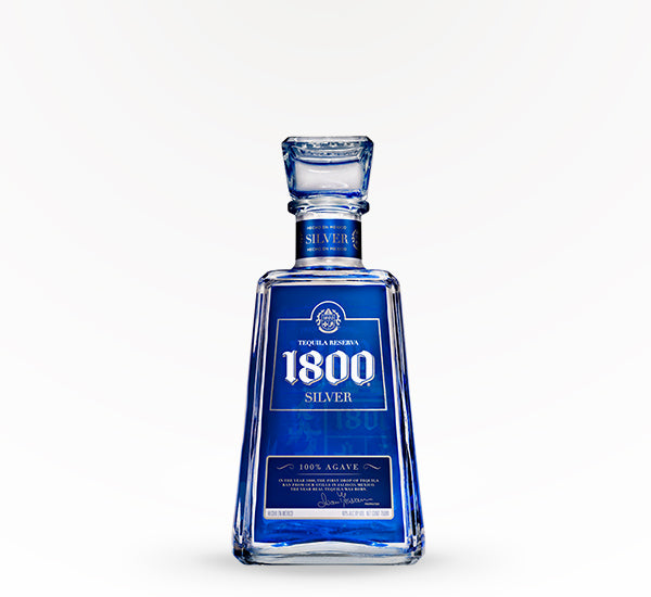 1800 Tequila Blanco Silver Tequila - 750 ml - SipsyLA