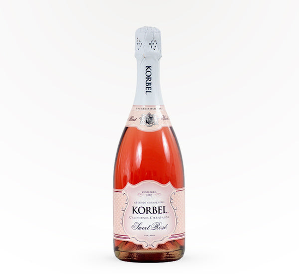 Korbel Sweet Rose - 750 ml - SipsyLA
