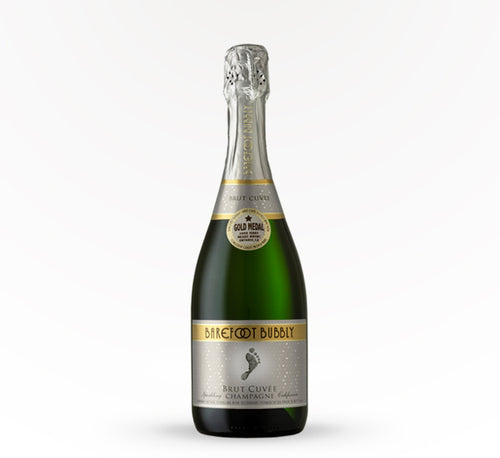 Barefoot Bubbly Brut Cuvee Champagne - 750 ml - SipsyLA