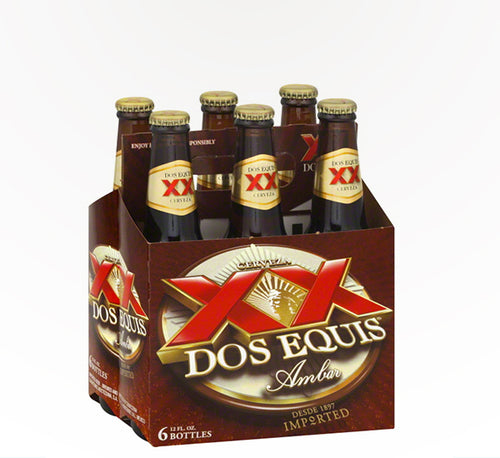 Dos Equis Mexican Amber Lager  - 6 bottles - SipsyLA