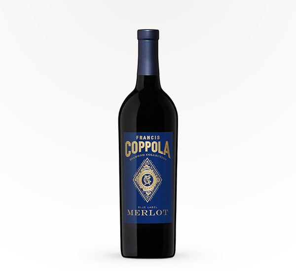Coppola Blue Label Merlot - SipsyLA