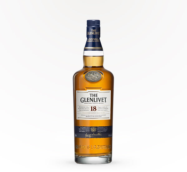 Glenlivet single Malt , 18 year - 750 ml - SipsyLA