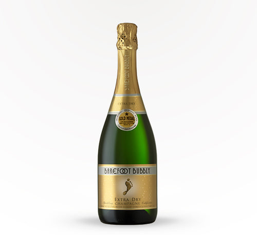 Barefoot Bubbly Extra Dry Champagne - 750 ml - SipsyLA