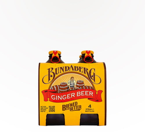 Bundaberg Ginger Beer - 4 bottles - SipsyLA